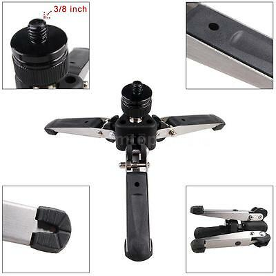 "Mini Superior Monopod Tripod Base Bottom Support Stand DSLR Camera 3/8"" Screw US"