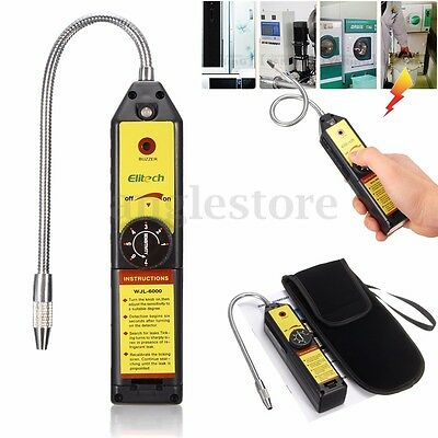 CFC HFC Refrigerant Halogen Leak Detector R410a R134a Air Condition HVAC Checker