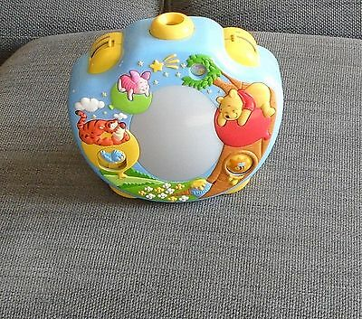 TOMY WINNIE THE POOH MUSICAL COT TOY WITH PROJECTED PICTURES - Dreamshow