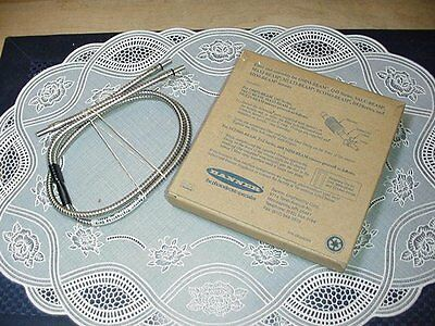 Banner BF23S Fiber Optic Sensor Glass Stainless Steel Assembly NEW IN BOX!