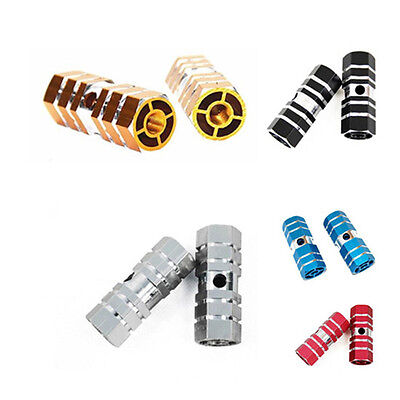 Alloy Axle Aluminum Pegs Bike New Bicycle 1 Pair Pedal Foot Mountain Hot