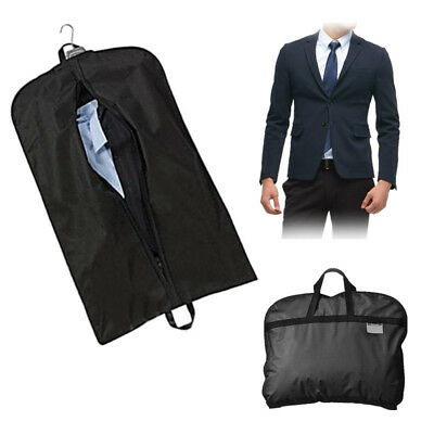 Suit Dress Coat Garment Storage Travel Carrier Bag Cover Hanger Protect 100*60cm