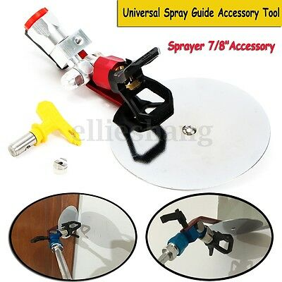 Universal 7/8'' Spray Guide Accessory + Tip For Wagner Titan Graco Paint Sprayer