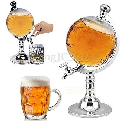 1L Globe Shaped Drink Wine Beer Machine Pump Beverage Liquor Dispense Creative
