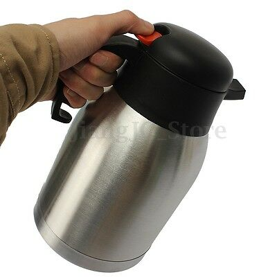 1.5L Thermos Stainless Steel Thermal Vacuum Pot Insulated Double Wall Tea Bottle