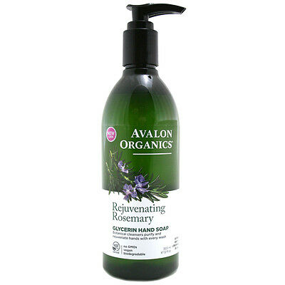 Avalon Organics Rejuvenating Rosemary Glycerin Hand Soap 355ml