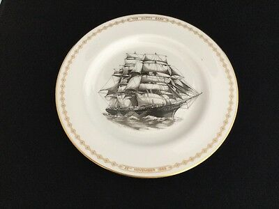 "SPODE Cutty Sark 1869-1969 Centenary 10 1/2"" Collectors Plate"