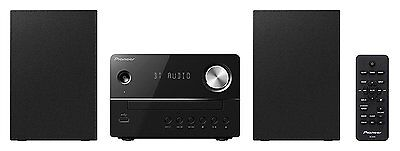 Pioneer XEM26 Mini CD Receiver System with Bluetooth Streaming, FM, USB & Audio