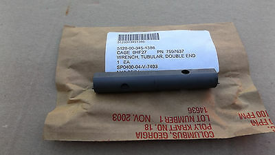 Spanner wrench Double ended NSN 5120-00-345-1386  NOS