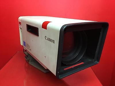 Canon J45X Mounted Zoom Lens In Military Grade Case S/n 21240J
