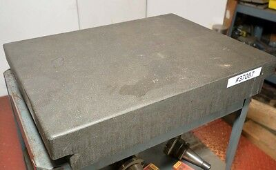 """Granite Surface Plate 24""""x18""""x4"""" (Inv.37087)"""