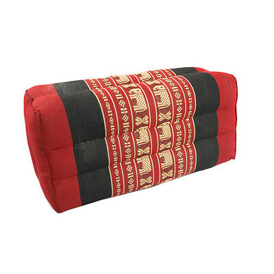 Small Yoga Cushion Red/Red Elephant (11)