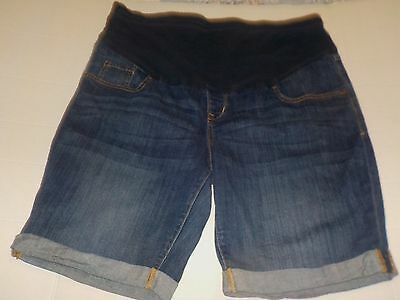 Old Navy Full Panel Maternity Shorts-16-Denim- W5 18 L