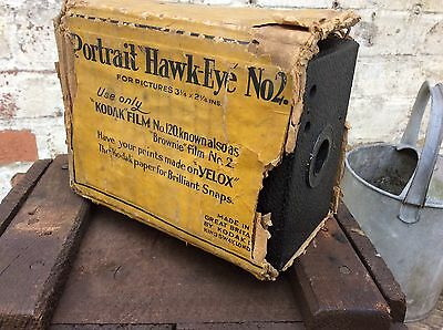 Vintage Retro Kodak Portrait Hawkeye camera No 2, display props photography