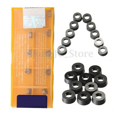 AU 10Pcs RCMT0602M0 NX2525 Carbide Inserts Tips Blades CNC Lathe Turning Tool