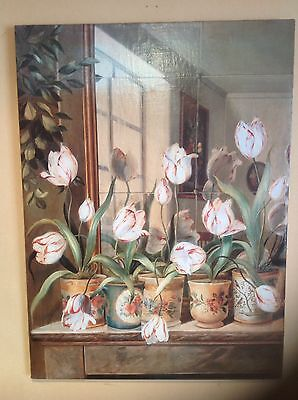 """""""Plant Pots"""".A Very High Quality Giclee Print On Canvas"""