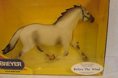Breyer Horse Model BEFORE THE WIND, Numbered Limited Edition  - NIB