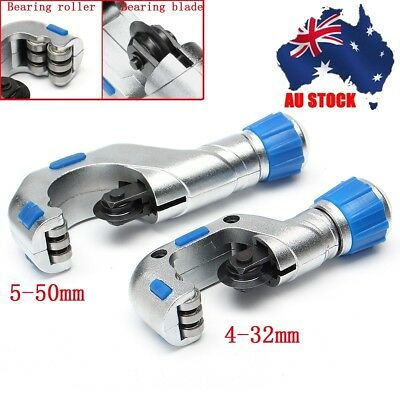 AU 4-32mm / 5-50mm Heavy Duty Ball Bearing Tube Pipe Cutter Alloy Steel Blade
