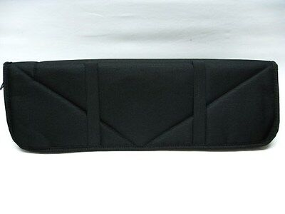 """CARRY ALL Black 16.5"""" Travel Storage Padded PROTECTIVE Knife Case Pouch! AC112"""