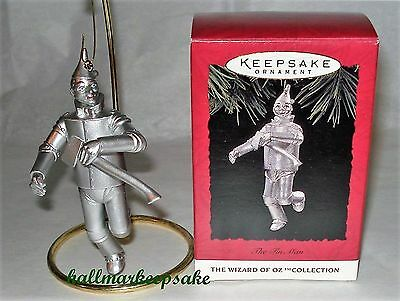 1994 Hallmark Keepsake Ornament The Tin Man The Wizard Of Oz Collection