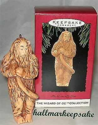1994 Hallmark Keepsake Ornament WIZARD OF OZ THE COWARDLY LION WOZ COLLECTION