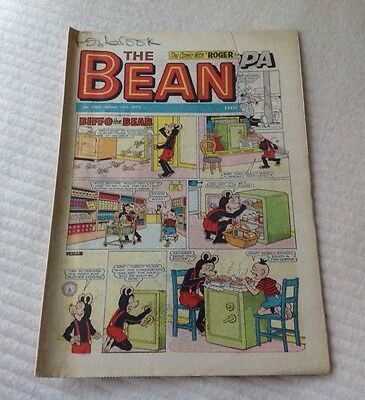 VINTAGE THE BEANO COMIC 12th August 1972 Issue no. 1569