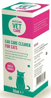 pdsa VET CARE EAR CARE CLEANER FOR CATS