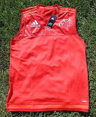 MUNSTER RUGBY Jersey Jersey ADIDAS mens/Men size S-XL Tank THE RED ARMY