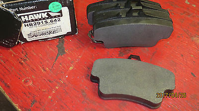 Hawk HB291S HT10 compound brake pads - Porsche