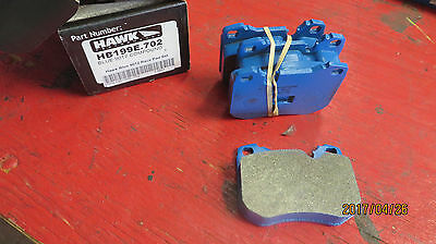 Hawk HB198E 9012 Blue compound brake pads - Porsche