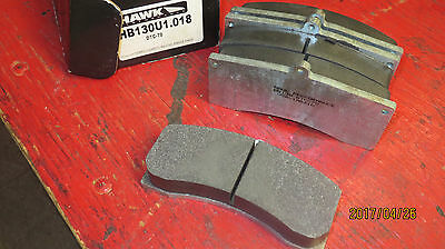 Hawk HB130U DTC70compound brake pads - Brembo, Wilwood