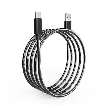 USB-C Type C 3.1 to USB 3.0 Fast Charging Stainless Steel Cable For Mac Nexus