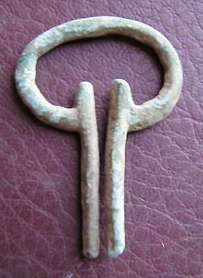 Authentic Ancient Lake Ladoga VIKING Artifact > Fibula Brooch  K6-3