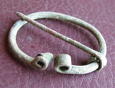 Authentic Ancient Lake Ladoga VIKING Artifact > Fibula Brooch  K5-5