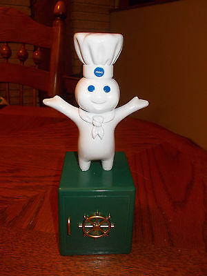 New In Box Vintage 1999 Giggling Pillsbury Doughboy Coin Bank
