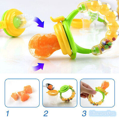 Pacifier Fresh Food Nipples Bottle Feeding Soother Safe Baby Supplies Must-tool