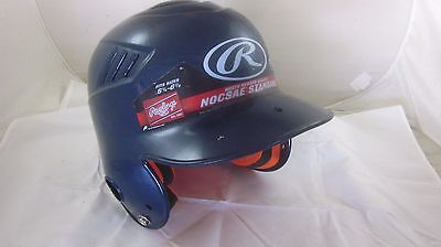 Rawlings Deluxe Fitted Youth Baseball Batting Helmet Blue Modell's MODCFTBMN-N