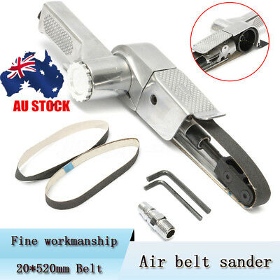 AU Air Belt Sander With Sanding + Belt Assorted Buffing Pneumatic Tools 20*520mm