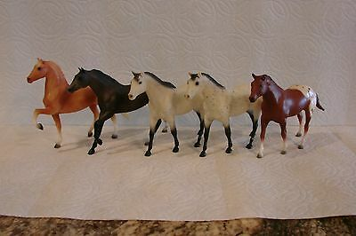 Breyer Horse Lot of 5 Paddock Pals - Stallions