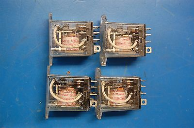 (4) Omron Relays Ly2F 220V 10A/12A 8 Pin