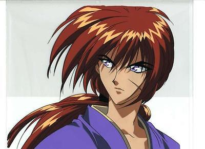 Rurouni Kenshin Samurai X Anime Japanese Artist Reproduction Cel Art