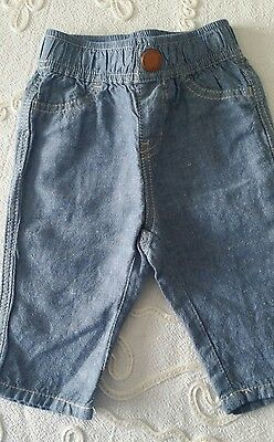 Country Road baby boy denim pant 3-6 months