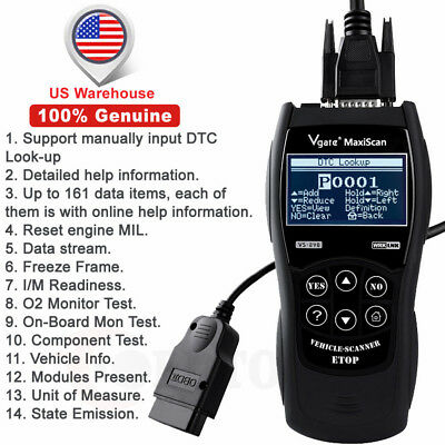 Universal OBD2 Code Reader VS890 Scanner Multi-languages Diagnostic Scan Tool