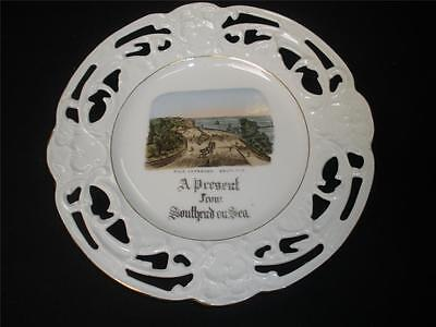 Ornamental  Porcelain  Collector Plate  Made In  England