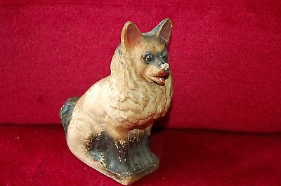 Tirelire A Casser Vintage  / Chien Platre / Money Box / Bank