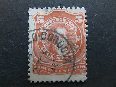 A4P28 Argentina 1888-90 5 used #8