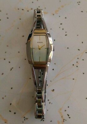 Guess Womens Watch Stainless Steel Silver and gold