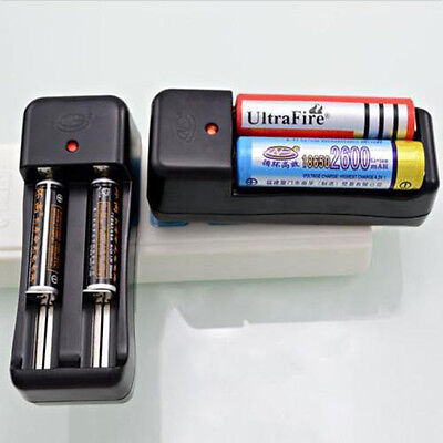 Universal Dual Charger Battery For 18650 16340 14500 Rechargeable Li-on 3.7V EU