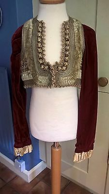 "Boy's  'period' jacket, original theatre costume for 'Tosca', 28"" chest"