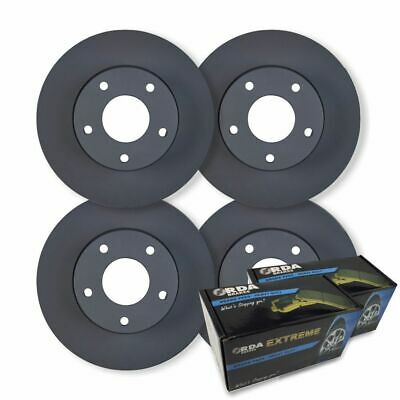 FULL SET Holden Commodore VR VS with IRS 1993-2000 DISC BRAKE ROTORS+ BRAKE PADS